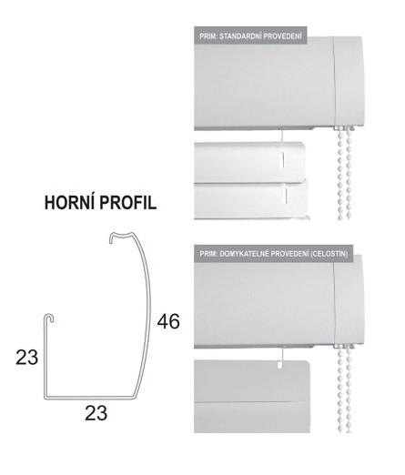Interiérové horizontální žaluzie Isoline Prim
